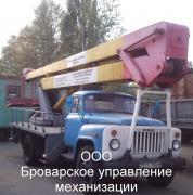 Аренда автовышки Бровары Киевская область