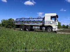 Изготовление рыбовозов, молоковозов, водовозов и других автоцист