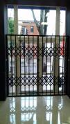 Раздвижные решетки металлические на двери, окна, витрины Винница