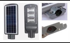 Світлодіодний прожектор на сонячній батареї (в-во Німеччина)